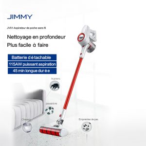 On a testé le Jimmy JV51 aspirateur balai de Xiaomi